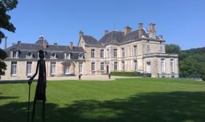 Le Château de Cirey S/Blaise (Voltaire et Marquise du Châtelet)