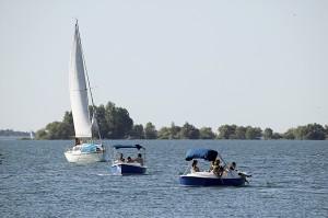 Nautisme au Lac du Der