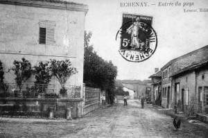 ancienne carte postale d'Echenay