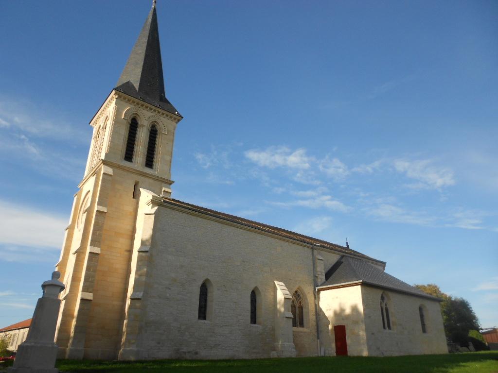 L'église d'Echenay