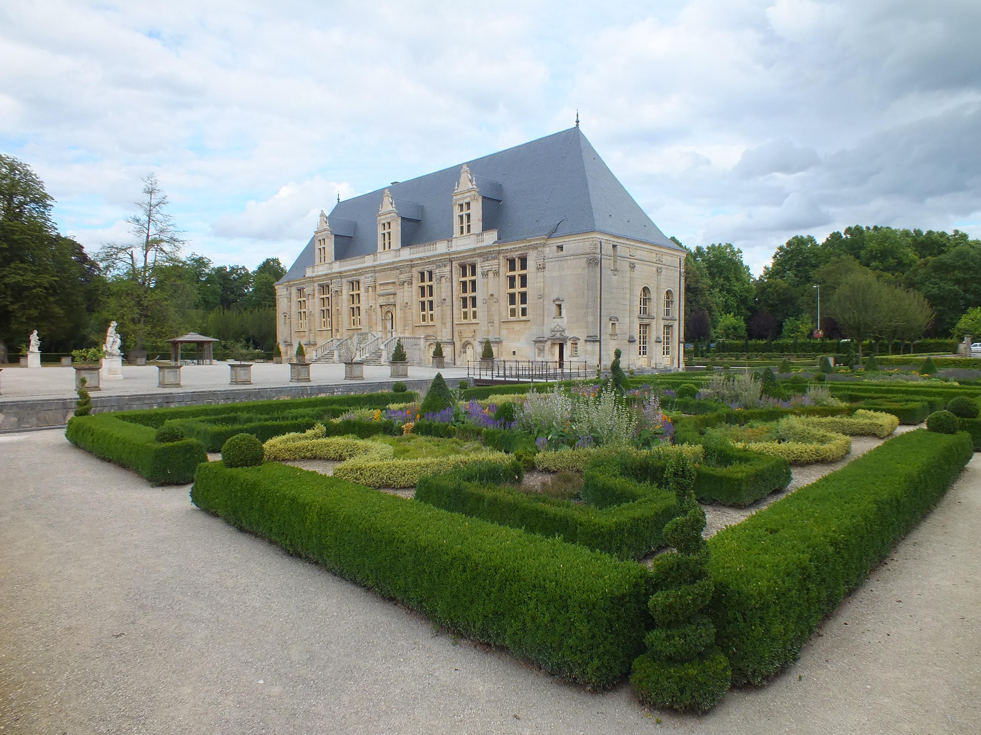 Le Château du Grand Jardin à Joinville, Copyright Patrick Quercy